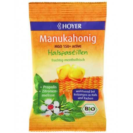 HOYER Manuka honey throat lozenges - 30g