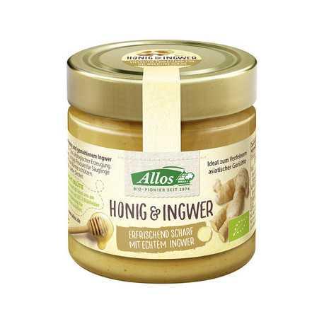 Allos - Honig & Ingwer - 250g