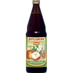 Bag Bacher - Apple cider vinegar unfiltered - 0,75 l