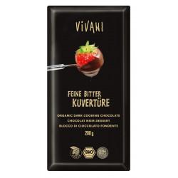 Vivani - Feine Bitter Kuvertüre 70% Kakao - 200g