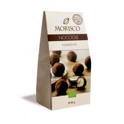 Morisco - Haselnüsse und dunkle Schokolade - 80g
