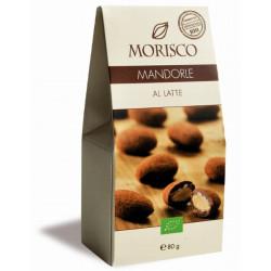 Morisco - Mandeln und Milchschokolade - 80g