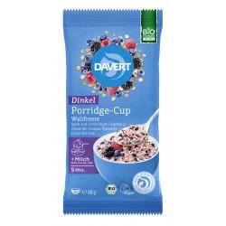 Davert - Porridge-Cup di Farro e frutti di bosco - 60g