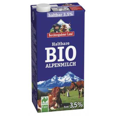 Berchtesgadener Land - Durable organic Alpine milk 3,5% - 1l