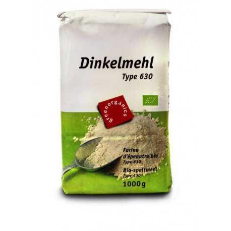 Green Dinkelmehl Type 630 1kg Miraherba Bio Lebensmittel