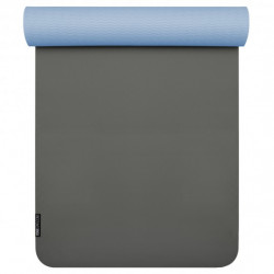 Yogi star of the yoga Mat Yogimat PRO - Anthracite-light blue