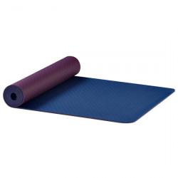 AKO Yoga stuoia di yoga Earth - Melanzana/blu