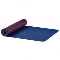 AKO Yoga - yoga Mat in Earth - Aubergine/blue