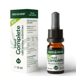 Medihemp - organic hemp Complete 2,5% - 10ml