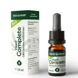 Medihemp - organic hemp Complete 5% - 10ml
