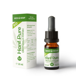 Medihemp - Bio Chanvre Pure Huile de 5% - 10ml