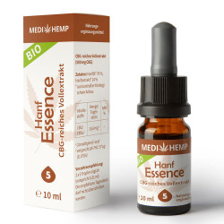 Medihemp di Canapa Bio Essence 5% - 10ml