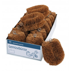 Redecker: - Coir Vegetable Brush