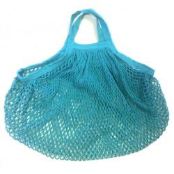 ah table - sac en coton bio turquoise