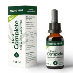 Medihemp - Bio Chanvre Complete 5% - 30ml