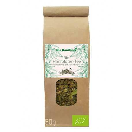 die Hanflinge - Bio Hanfblüten-Tee Finola Feinschnitt - 50g