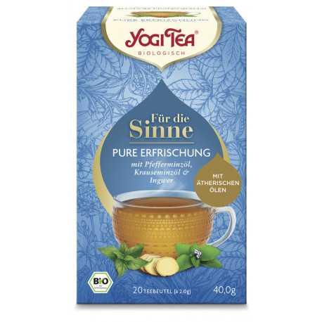 Yogi Tea - Für die Sinne Pure Erfrischung - 20St
