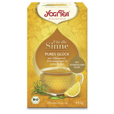Yogi Tea - Pures Glück für die Sinne - 20St