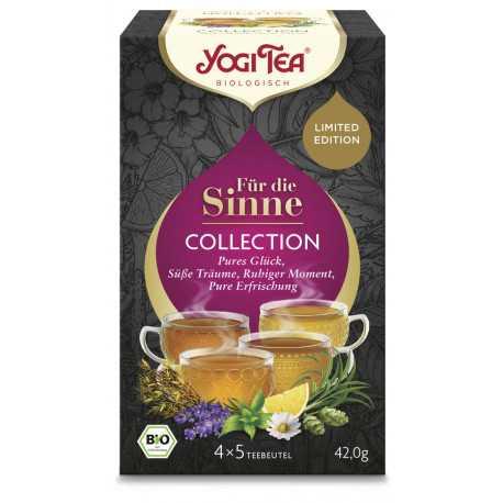 Yogi Tea - Pour le Sens de la Collection de 20pcs