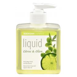 Sodasan - Bio-Pflanzenseife Citrus-aceite de Oliva - 300 ml