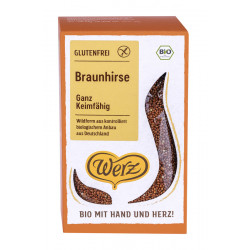 Werz brown millet is completely gluten free - 500g