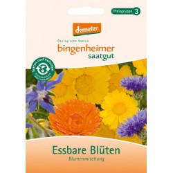 Bingenheimer Semillas De Flores Comestibles