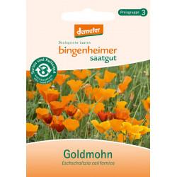 Bingenheimer De Semillas Goldmohn
