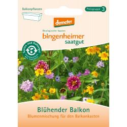 Bingenheimer Saatgut - blühender Balkon