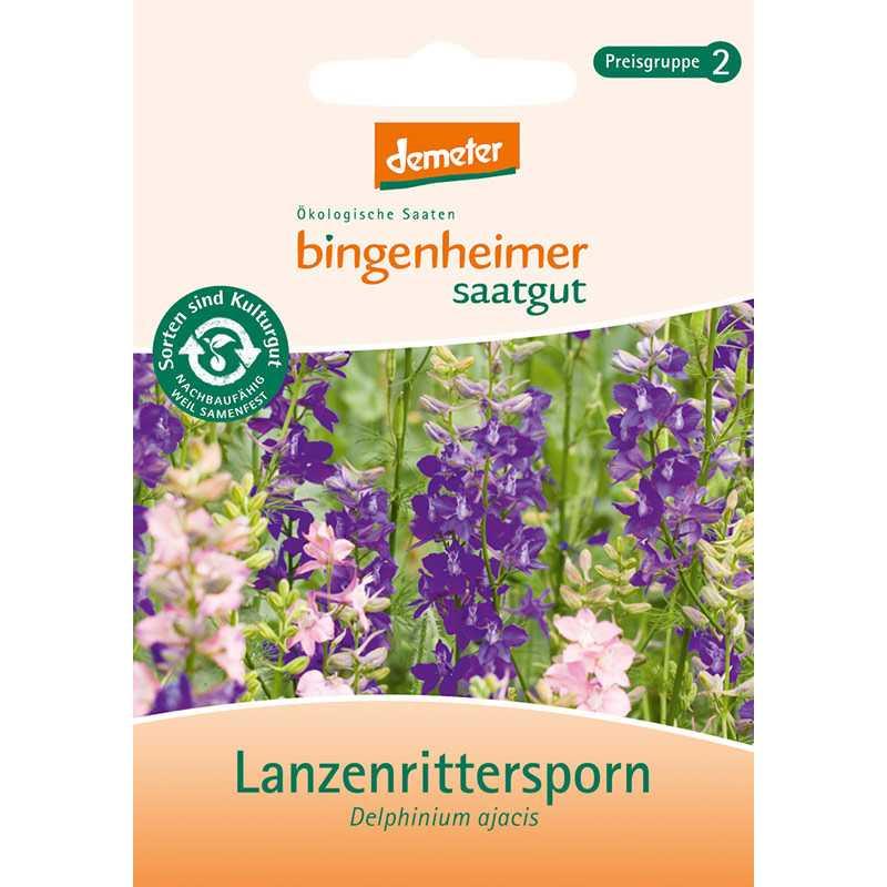 Bingenheimer Saatgut - Lanzenrittersporn