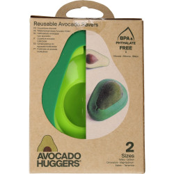 Food Huggers silicone caps Avocados - Set of 2