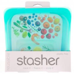 Stasher Bag - Sandwich aqua - 1 Stück
