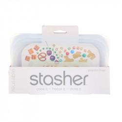 Stasher Bag - Snack clear - 1 Stück