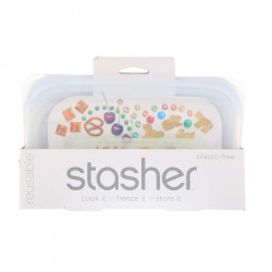 Stasher Bag - Snack clear - 1 Pezzo