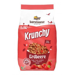 Barnhouse - Krunchy strawberry - 700g