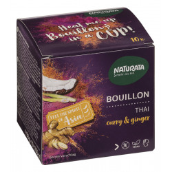 Naturata - Bouillon Thaï au curry & ginger - 50g