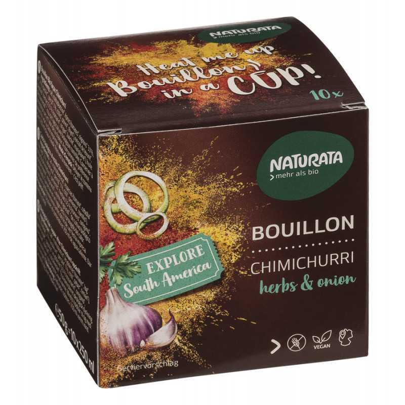 Naturata - Bouillon Chimichurri herbs & onion - 50g