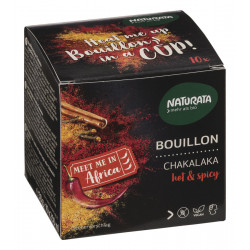 Naturata - Bouillon Chakalaka hot & spicy - 50g