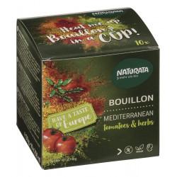 Naturata - Bouillon Mediterranean tomates & herbes - 50g