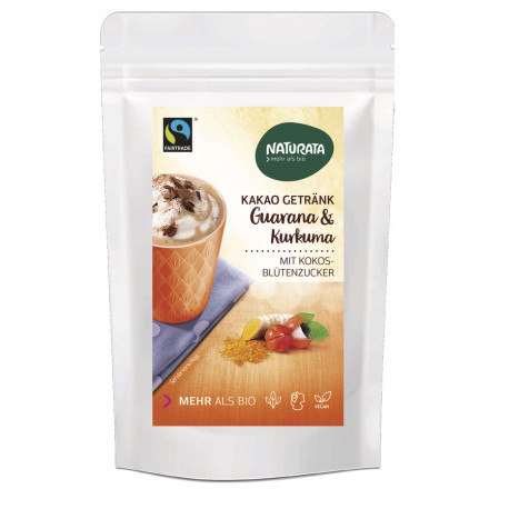 Naturata - Cacao Bevanda con Guaranà & Curcuma - 100g