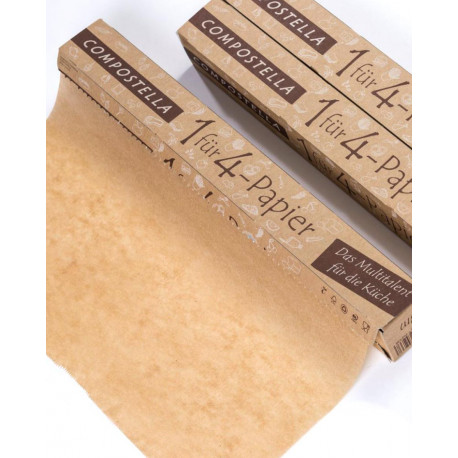 Compostella - 1 für 4 Papier Haushalt - 8m Rolle
