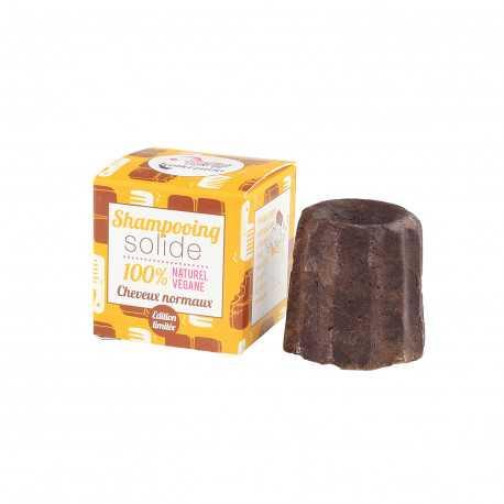Lamazuna - Festes Shampoo Schokolade - normales Haar - 55g