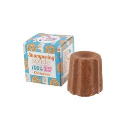 Lamazuna - Festes Shampoo Orange - trockenes Haar - 55g