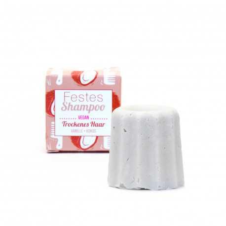 Lamazuna - Festes Shampoo Vanille-Kokos - trockenes Haar - 55g