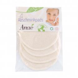 Anae - Abschminkpads Bio-Baumwolle - 4st