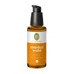 Primavera - Muskelwohl Activement de l'Huile bio - 50ml