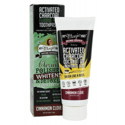 My Magic Mud - active charcoal toothpaste cinnamon-clove - 113g