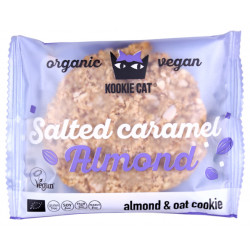 Kookie Cat - salziges Karamel und Mandel - 50g