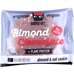 Kookie Cat de Almendras y Chocolate con Proteína - 50g