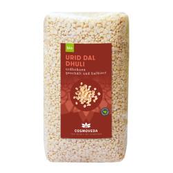 Cosmoveda - ORGANIC Urid Dal Dhuli - Urd Beans 500g