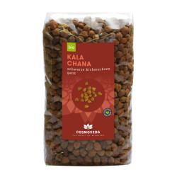 Cosmoveda ORGANIC Kala Chana - black chickpeas whole - 500g